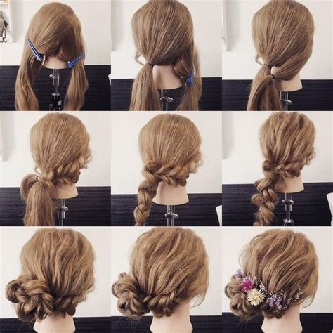 hairstyles arrange 820 best ヘアアレンジ images on pinterest hair arrange up dos