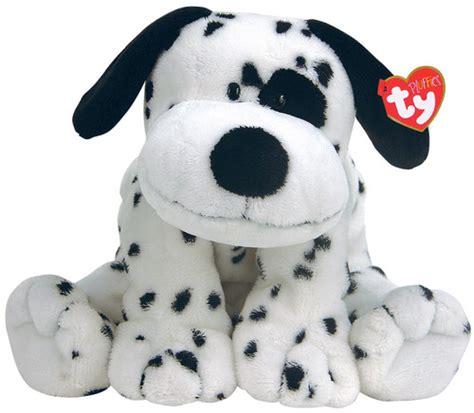 ty puppy stuffedanimals stuffed plush dogs ty pluffies 10 quot stuffed plush dotters