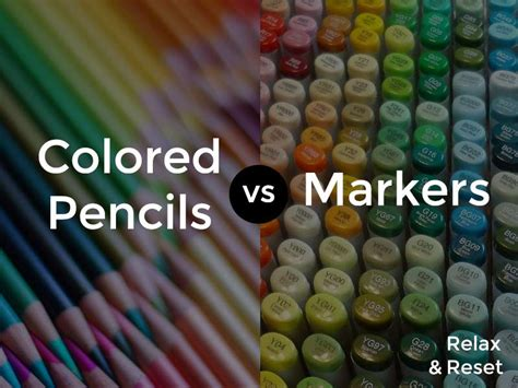 markers and colored pencils 10 reasons why colored pencils are better than markers