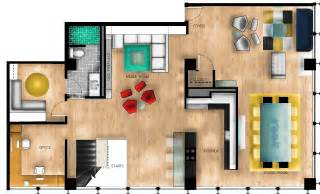 rendered floor plan rendered furniture floor plan chicago remodel iar 212