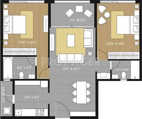 amanora future towers floor plans new luxury flats 1228 sq ft 2 bhk 2t apartment for sale in amanora group