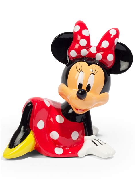 ceramic coin bank disney minnie mouse