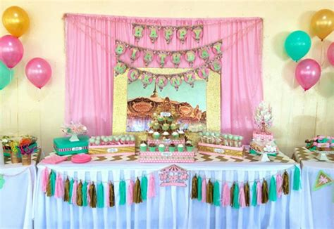 Od Kid Ribbon 2 Polka Pink slatki sto dekoracija decijih rodjendana