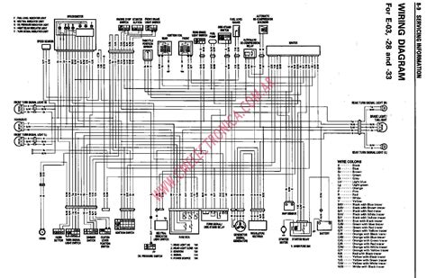 1999 suzuki intruder 1400 wiring diagram intruder