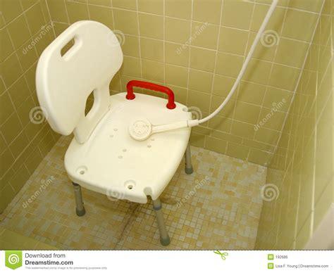 dusche stuhl medizinischer dusche stuhl 2 stockfoto bild