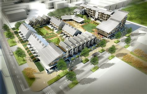 layout village breathe urban village competition the viva project