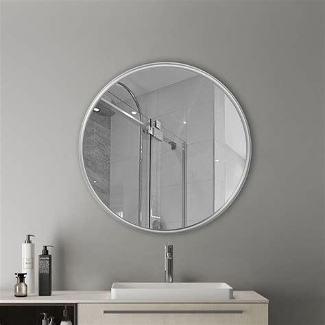 silver metal  wall mirror rustic accent mirror