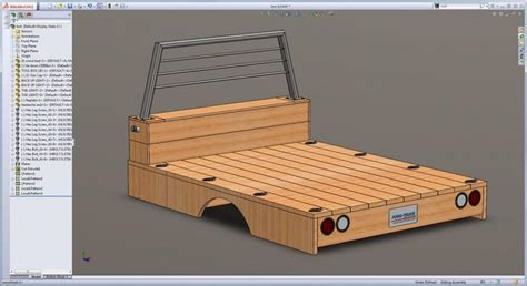 wood truck bed plans wooden flatbed build info page 25 shows what it looks