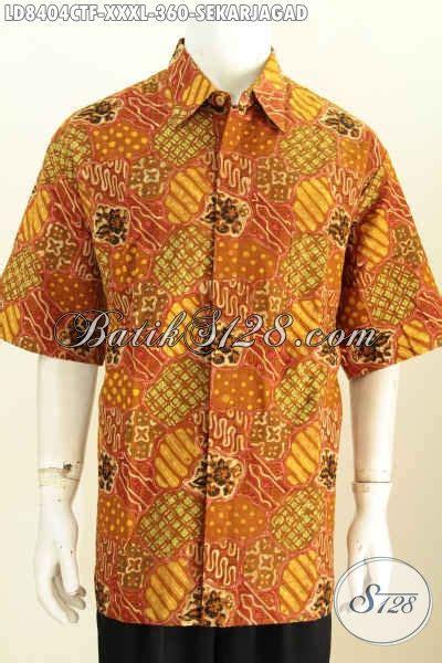 Kemeja Batik Katun Cap Elegan Batik Nurisma 4 kemeja batik 4l halus elegan lengan pendek baju batik