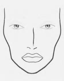 blank makeup template 36 best chart images on make up