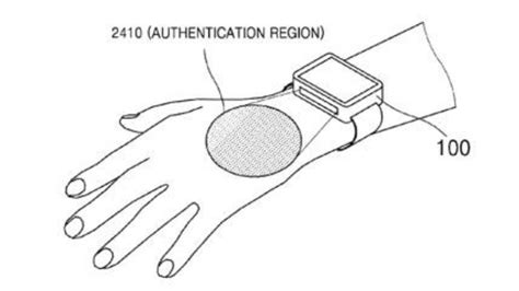 pattern recognition android samsung patented vein pattern recognition technology