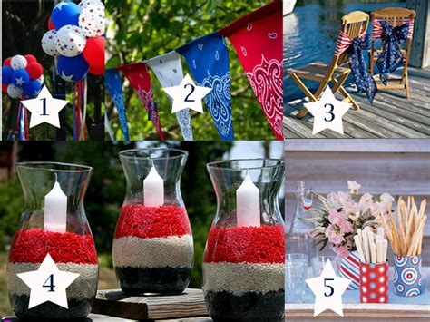 quick decor quick decorating ideas for the fourth of july