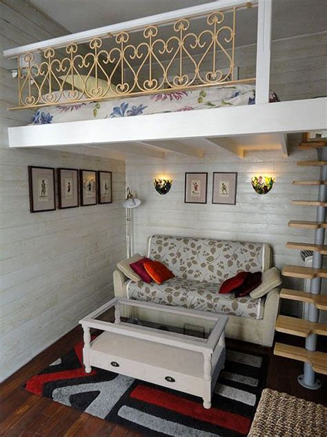 small bedroom loft bed adult loft beds the style is not me but i love the idea