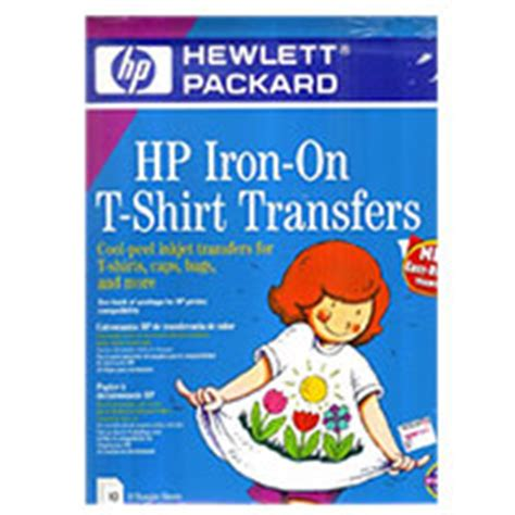 hp printer iron on transfer paper hp iron on t shirt transfers c6049a micro center