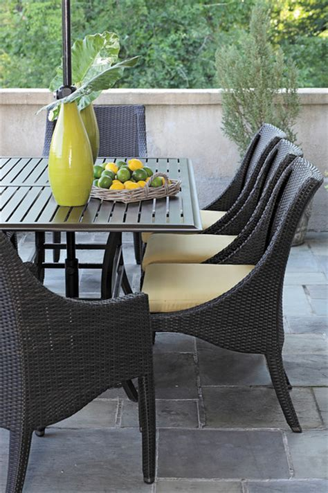Resin Wicker Patio Dining Sets Resin Wicker Patio Dining Set Modern Patio Birmingham By Summer Classics