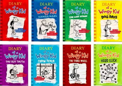 Komik Plue The Diary Set 1 3 End diary of a wimpy kid ebooks 1 8 only 1 99 each more today only hip2save