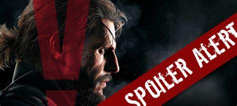 A Place Spoiler Alert Pangamers Spoiler Alert Metal Gear Solid V The Phantom Ending