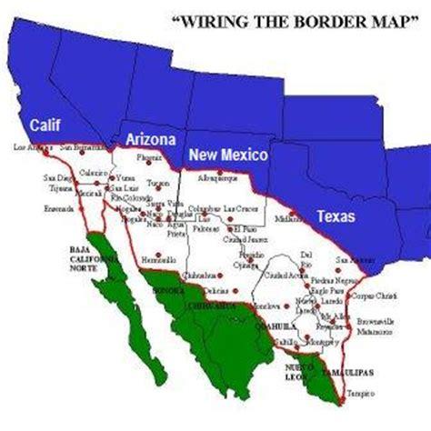 map us mexico border map us mexico border 28 images american union map us