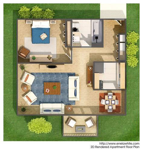 rendered floor plans rendered floor plan floor plan rendering pinterest
