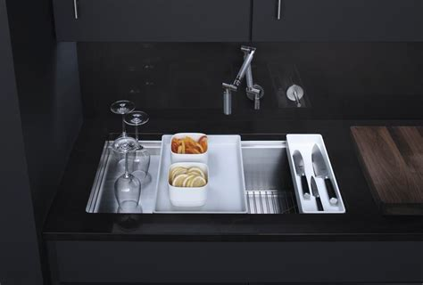 Kohler Stages Kitchen Sink Kohler K 3760 Na Stages 33 Inch Stainless Steel Kitchen Sink Single Bowl Sinks