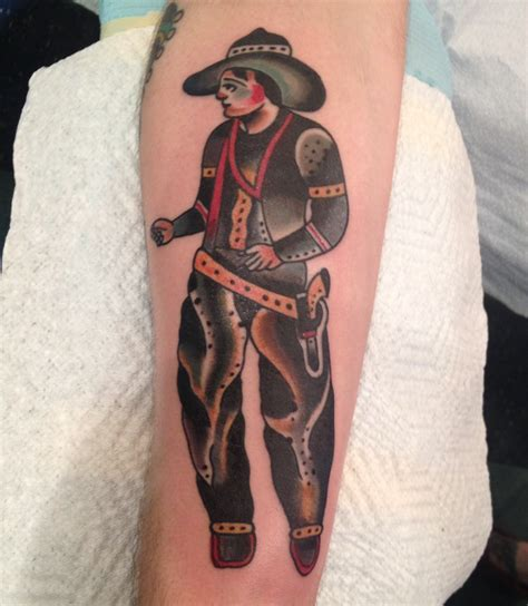 cowboy tattoo designs cowboy tattoos