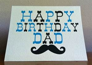 birthday cards for dads birthday card happy birthday moustache card