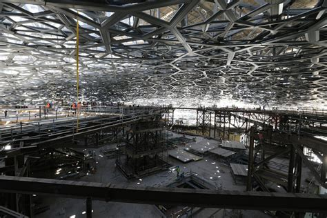 Oeuvre De Jean Nouvel by Construction Of Jean Nouvel S Louvre Abu Dhabi Well Underway