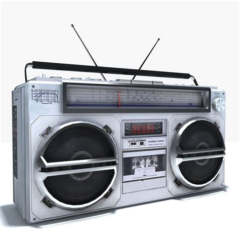 stereo cassette player max boombox cassette player