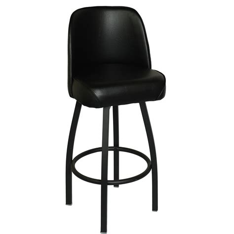 Black Swivel Counter Stools With Back by Swivel Bar Stool With Back
