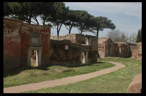 necropoli di porto isola sacra necropoli di porto forum natura