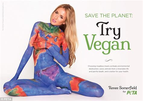 Shirley The Peta Postergirl by Renee Somerfield Sheridyn Fisher And Ellie Gonsalves In