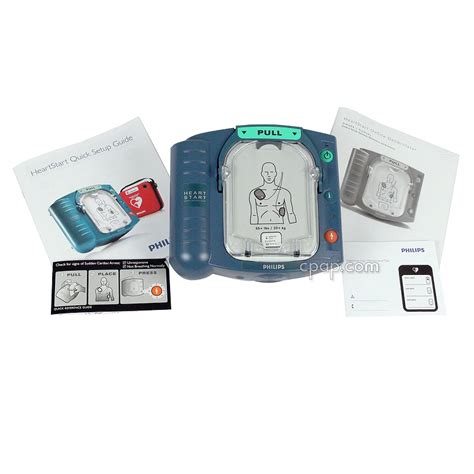 cpap philips heartstart home defibrillator