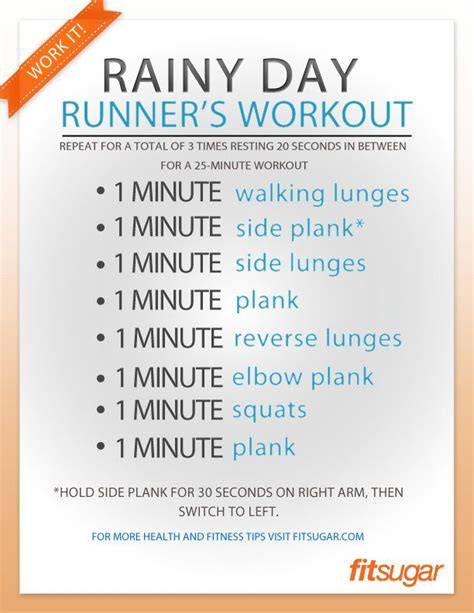 an indoor leg workout for the next rainy day runners