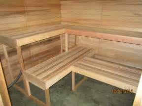 sauna bench plans the gallery for gt diy sauna plans