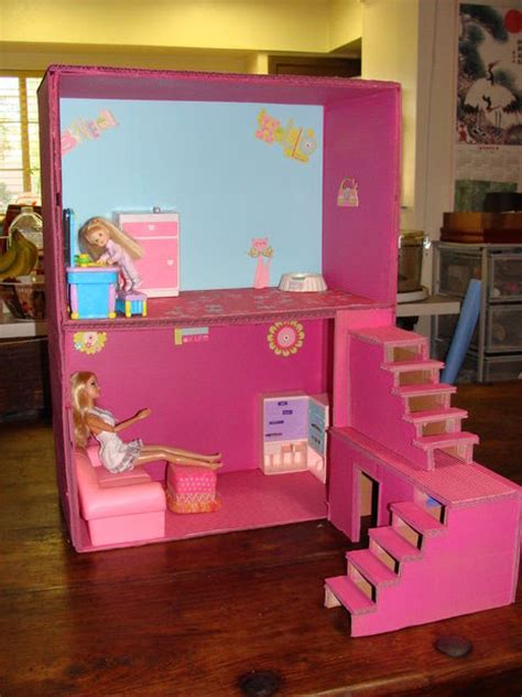 o que e dollhouse dollhouse from boxes and cardboard