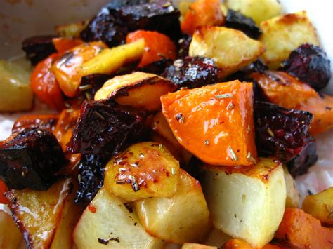 baked root vegetables roasted root vegetables