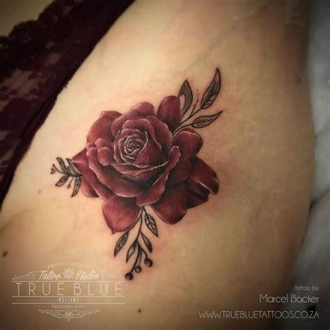 rose tattoo shop burgundy by marcel backer of true blue professional