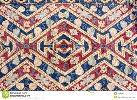 Tapisserie Retro by Fragment Of Colorful Retro Tapestry Textile Pattern As