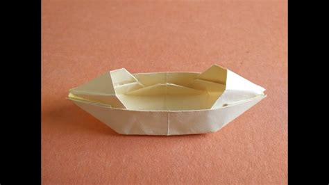 origami chinese junk boat how to make an origami san boat with shelter youtube