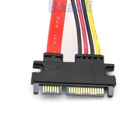 Kabel Sata 15 Dan 7 Pin Famale Ke 0 5 Meter 7 15 22 pin daten strom kabel s ata sata st bu verl 228 ngerung 30 cm neu ovp dl ebay