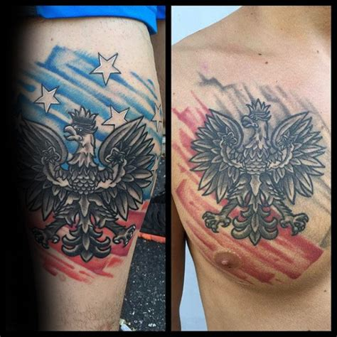 polish flag tattoo designs 60 eagle designs for coat of arms ink