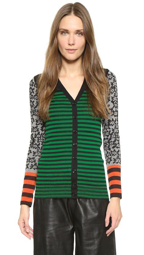Sweater Black Orange Lis by rykiel striped cardigan black emerald