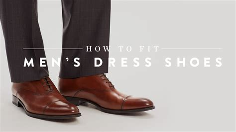 how to fit s dress shoes nordstrom expert
