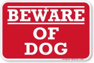 aluminum beware of dog sign sku k 2556