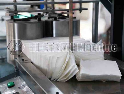 Paper Napkin Machine - paper folding machine type table napkin machine buy