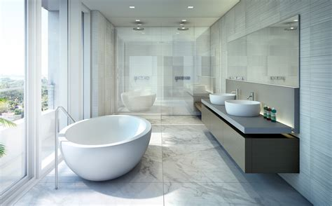Spa Themed Bathroom Ideas - beach house 8 miami luxury condos bathroom new build homes