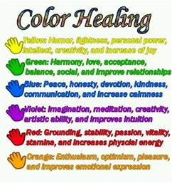 color therapy color healing spiritual light