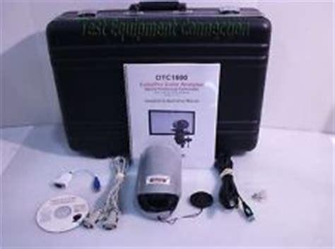 sencore test equipment connection