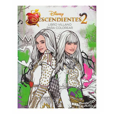 libro los descendientes 2 el dibujos para colorear e imprimir descendientes ideas
