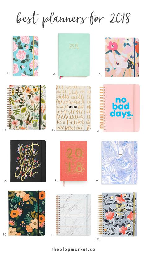 best agendas best 2018 planners for creatives